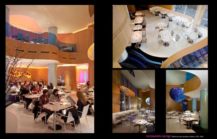 Restaurant von Karim Rashid