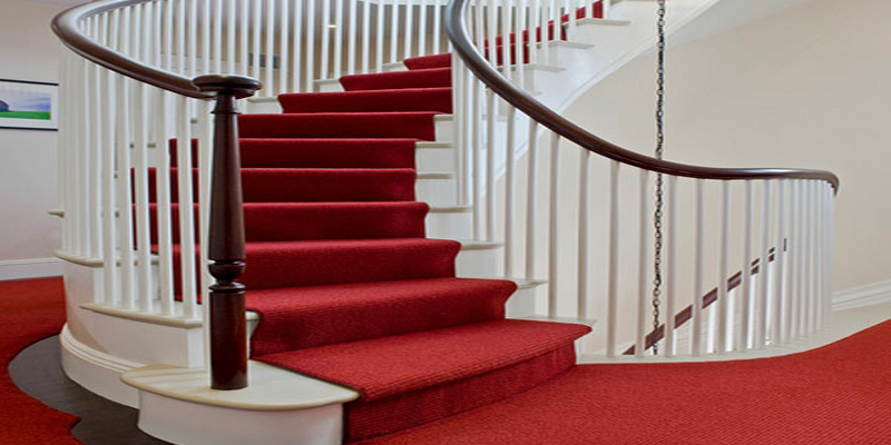 Treppe Rot